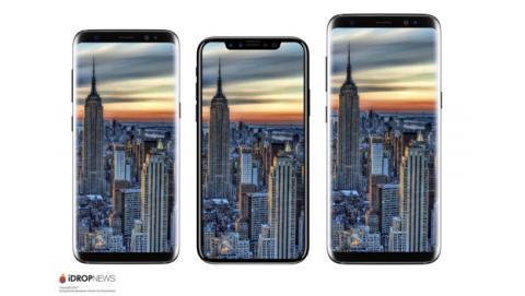 El iPhone 8 comparado con los nuevos Samsung Galaxy S8