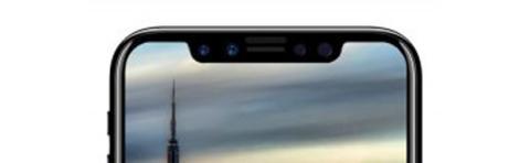 El peculiar diseño del marco de pantalla del nuevo iPhone