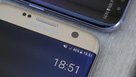 En los nuevos Samsung Galaxy S8 no existe una versión con la pantalla plana