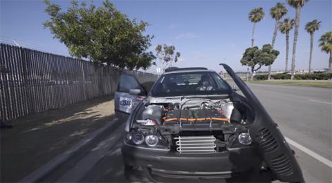 El coche eléctrico reciclado The Phoenix
