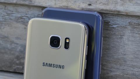 Las curvas llevan años siendo las protagonistas de los móviles de Samsung
