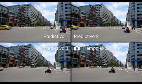 Fotografías hechas con la captura predictiva