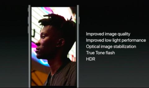 Cámara iOS 11