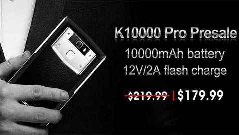 Reserva ya el Oukitel K10000 Pro por 179,99 dólares