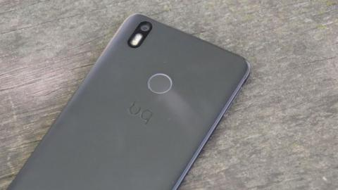 sensor de huellas review bq Aquaris X