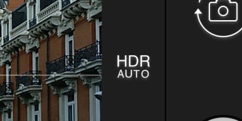 Los Modos HDR de la aplicación de cámara