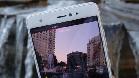 La aplicación de cámara del BQ Aquaris X Pro