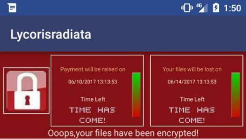 Así es el malware para Android que imita al ransomware Wannacry.