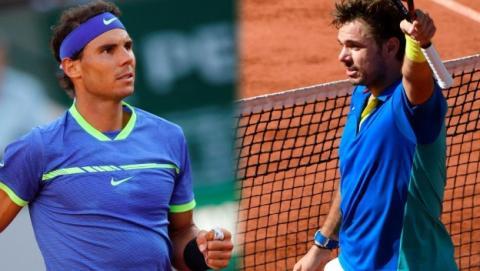 Nadal vs Wawrinka: cómo ver gratis en directo online la final de Roland Garros 2017