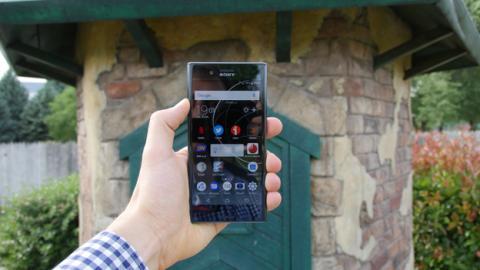 Así queda en la mano el Sony Xperia XZ Premium