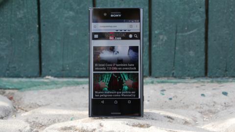 El Sony Xperia XZ Premium es uno de los pocos móviles en tener una pantalla 4K