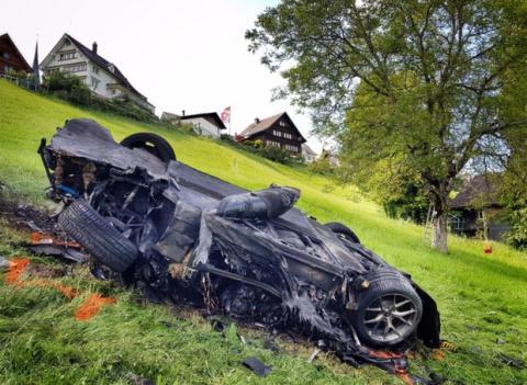 Espectacular accidente de un coche eléctrico en The Grand Tour