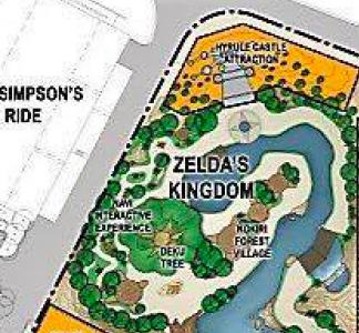 Plano Reino de Zelda