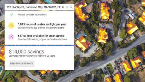 El proyecto de Google para ayudarte a ahorrar en la factura de la luz con energía solar.