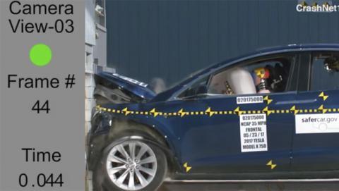 El Model X de Tesla pasa con nota las pruebas de seguridad