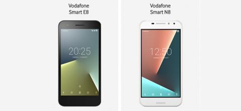 Vodafone Smart E8 y N8
