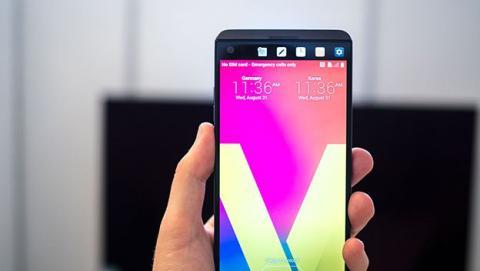 LG V30, uno de los móviles con mejor audio.