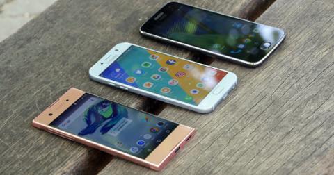Comparativa Galaxy A5 vs Xperia XA1 vs Moto G5 Plus