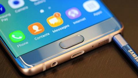 Así sería el panel del Samsung Galaxy Note 8