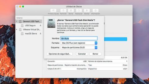 Cifra tus unidades externas en macOS