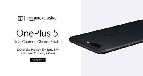 El nuevo OnePlus 5 en Amazon