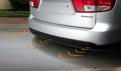 Como montar un sensor de aparcamiento