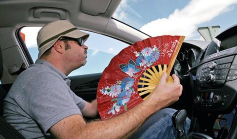 aire acondicionado en el coche