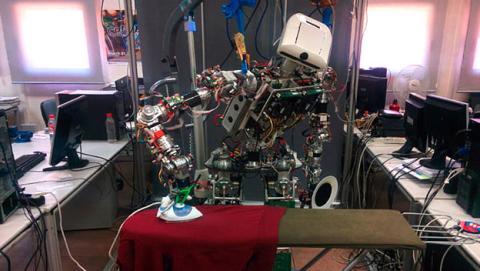 robot plancha
