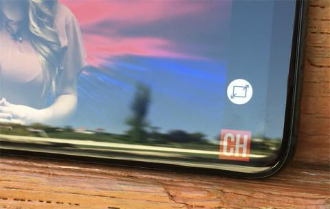 El botón que permite reproducir el vídeo a la pantalla completa de Samsung