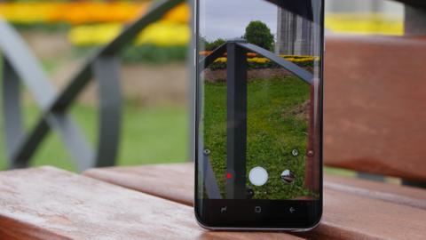La aplicación de cámara de los Samsung Galaxy S8