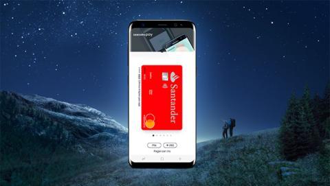 Samsung Pay, ahora compatible con el Banco Santander