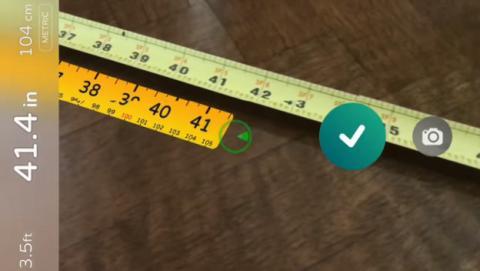 Medir con el iPhone gracias a la realidad virtual, muy pronto será posible.