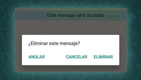 Anular un mensaje en WhatsApp: los detalles oficiales