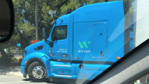 El camión autónomo en el que trabaja Waymo (Google)