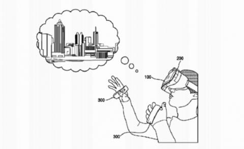 patente samsung gear vr