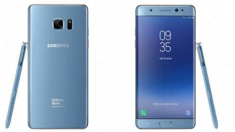 El Samsung Galaxy Note 7 se llama Samsung Gaalxy Note Fan Edition