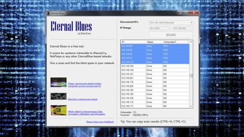 Eternal Blues te dice si eres vulnerable a Eternal Blue