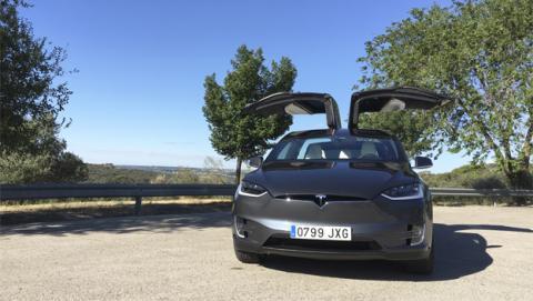 Tesla Model X, probamos la tecnología de este coche eléctrico
