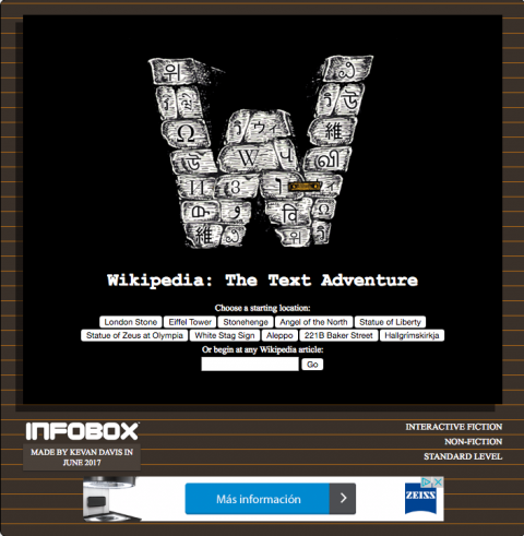 Wikipedia: The Text Adventure