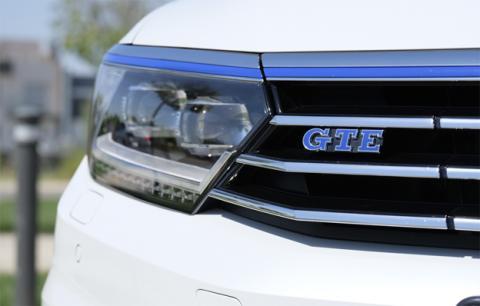 La versión GTE del Volkswagen Passat