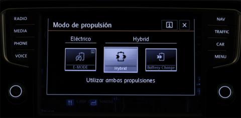 Los diferentes modos de conducción eléctrica del Passat GTE
