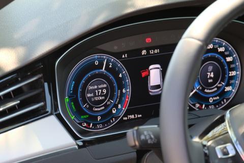 El cuadro de instrumentos digital de Volkswagen