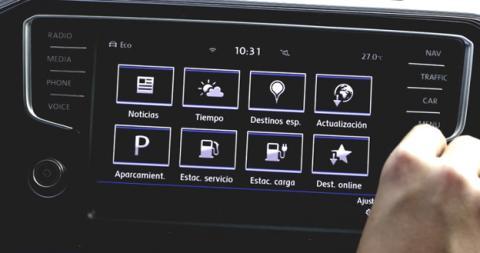 Las opciones que hay en el apartado de Car-Net