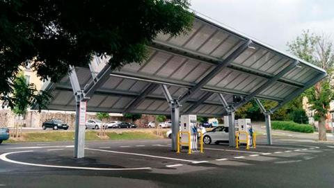 electrolinera solar