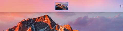 Crea un escritorio nuevo en Mac