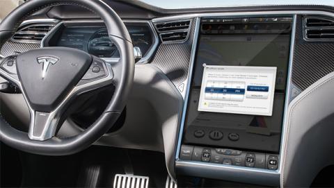 Tesla lanza una actualización para que sus coches sean más rápidos