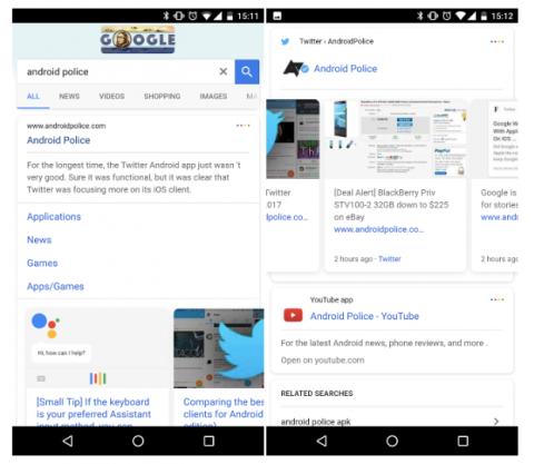 Novedades interfaz Google