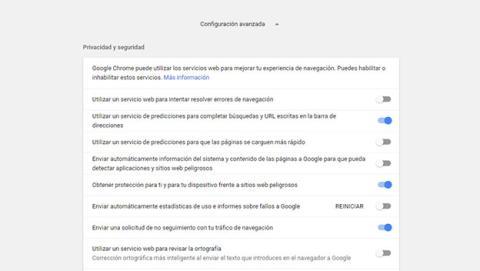 Evita los servicios de apoyo de Google