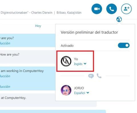 Cómo activar Skype Translator