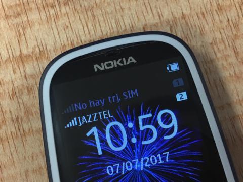 El 3310 solamente se conecta a Internet a través del 2G